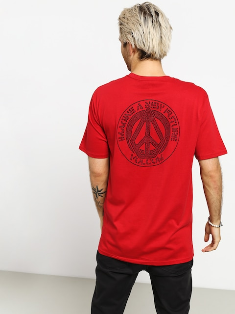 Tričko Volcom Conceiver Bsc (engine red)