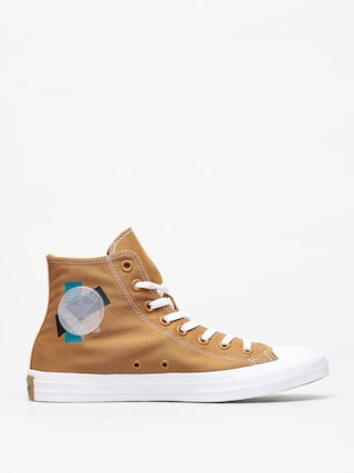 Tenisky Converse Chuck Taylor All Star Hi (wheat/turbo green/white)