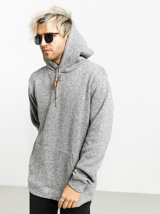 Mikina s kapucu00ed Quiksilver Keller HD (medium grey heather)