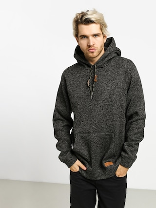 Mikina s kapucu00ed Quiksilver Keller HD (dark grey heather)