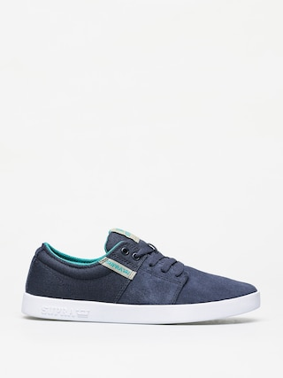 Boty Supra Stacks II (navy/stone white)