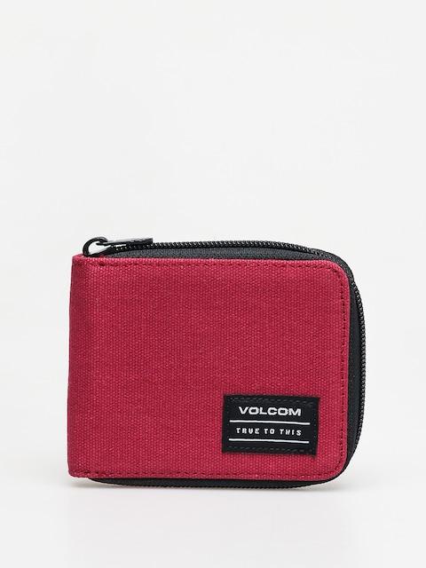 Peněženka Volcom Full Zip (cabernet)