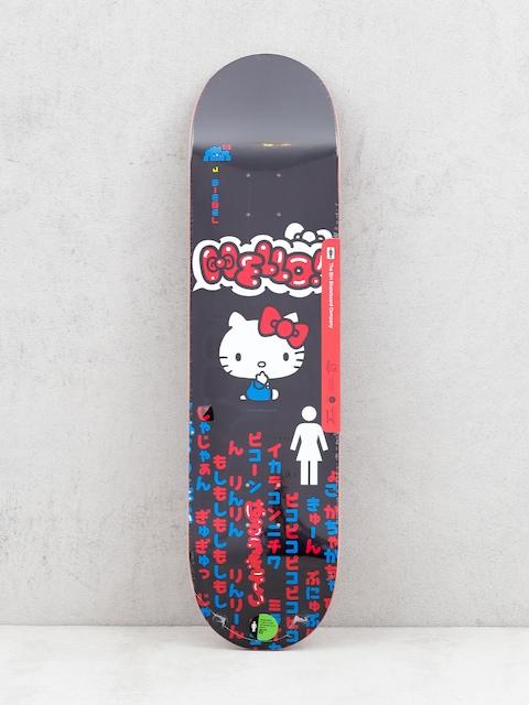 Deska Girl Skateboard Biebel Hello Kitty (black)