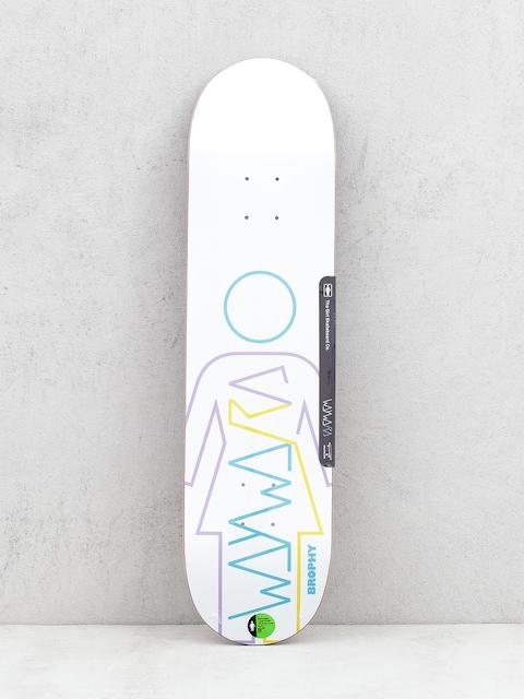 Deska Girl Skateboard Brophy Wayward (white)