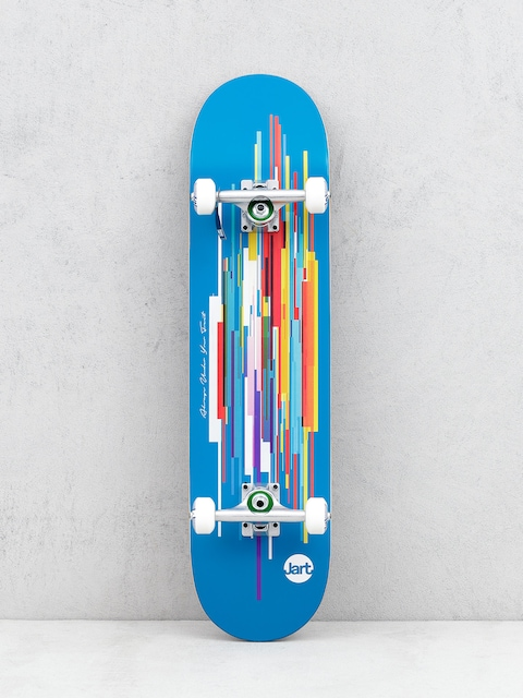 Skateboard Jart Defrag (blue/multi)