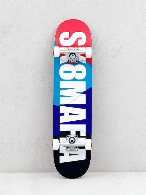 Skateboard Sk8Mafia Og Logo Overlap (multi)