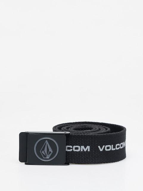 Pásek Volcom Circle Web (black print)