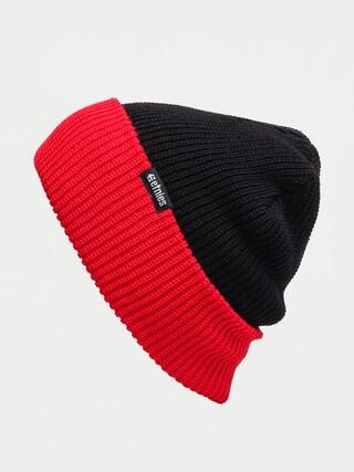 u010cepice Etnies Warehouse Block Beanie (black/red)