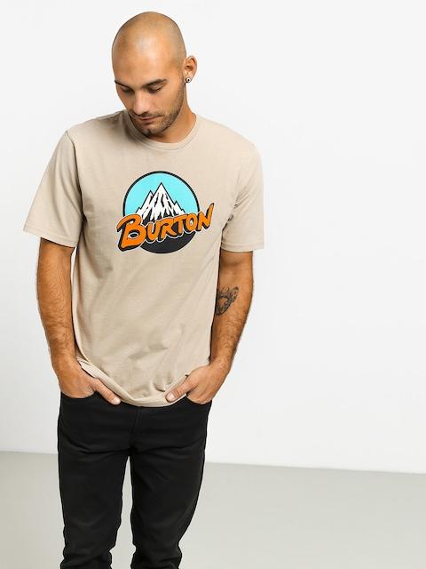 Tričko Burton Retro Mtn (plaza taupe)