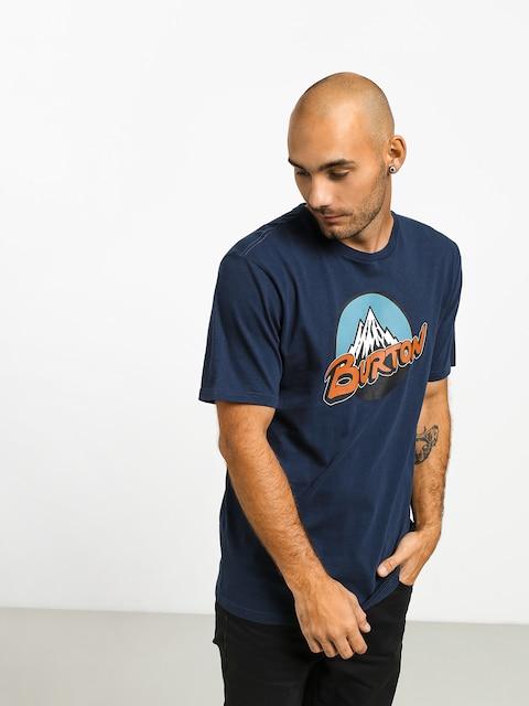 Tričko Burton Retro Mtn (dress blue)