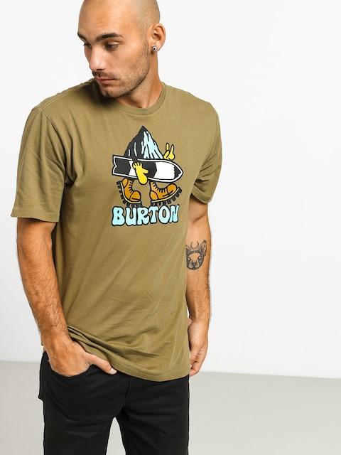 Tričko Burton Lorid (martini olive)