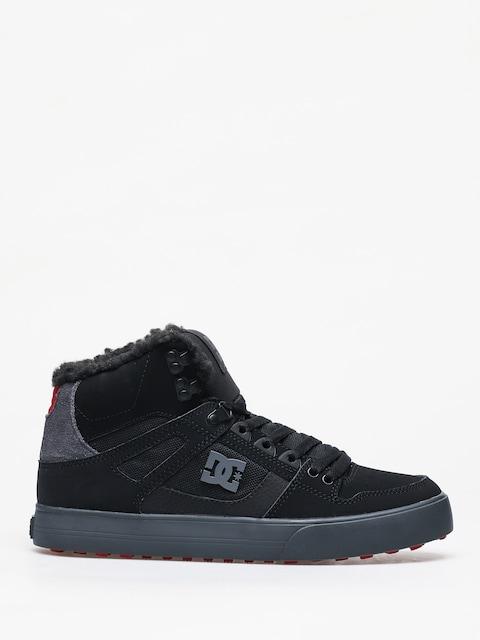 Zimní boty DC Pure Ht Wc Wnt (black/grey/red)