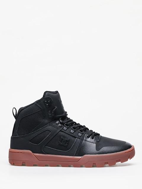 Zimní boty DC Pure Ht Wr (black/gum)