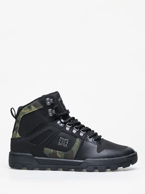 Zimní boty DC Pure Ht Wr (black/camo)