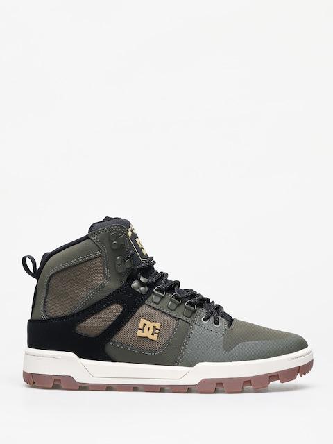 Zimní boty DC Pure Ht Wr (olive/black)