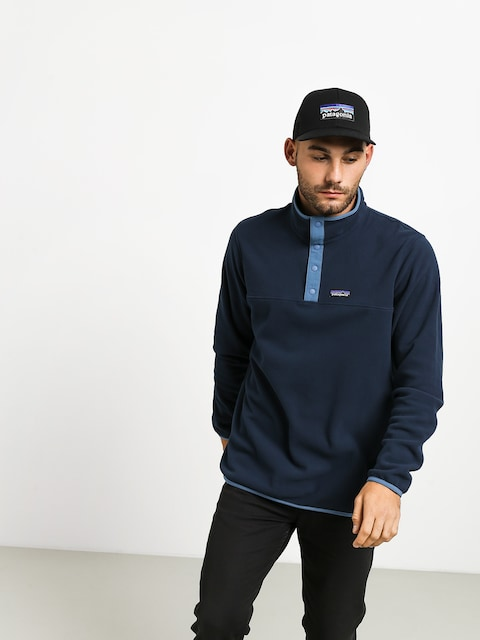 Fleecová mikina Patagonia Micro D Snap T (new navy)