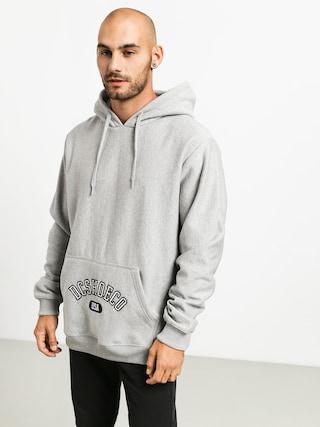 Mikina s kapucí DC Arched HD (grey heather)