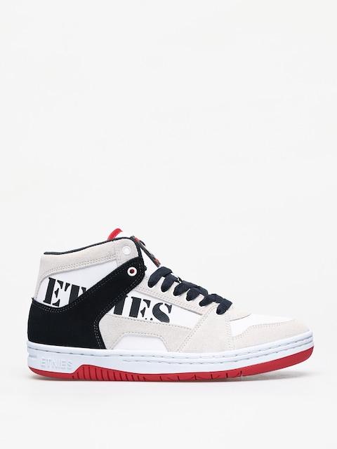 Boty Etnies Mc Rap High (white/navy/red)
