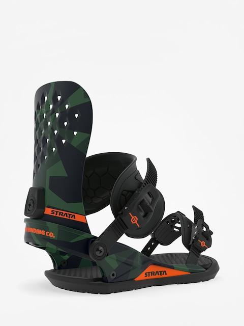 Snowboardová vázání Union Strata (camo)