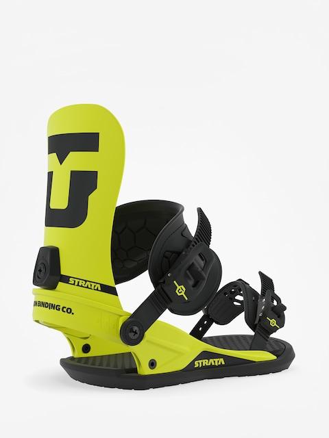Snowboardová vázání Union Strata (hazard yellow)
