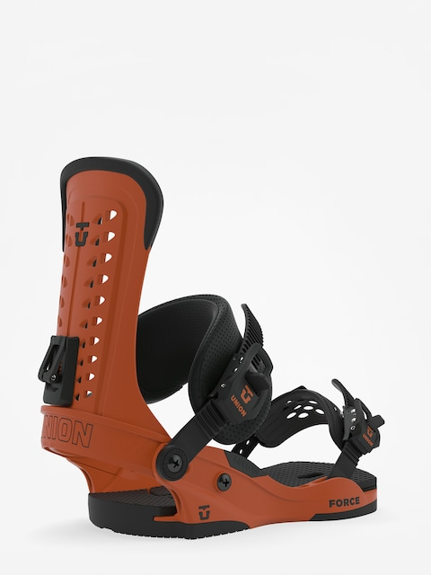 Snowboardová vázání Union Force (burnt orange)