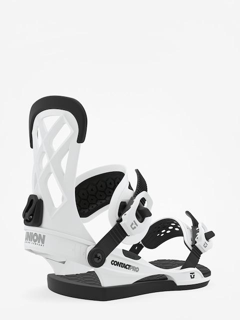 Snowboardová vázání Union Contact Pro (white)