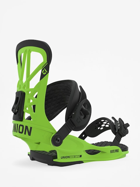 Snowboardová vázání Union Flite Pro (acid green)