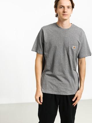 Tričko Carhartt WIP Pocket (dark grey heather)