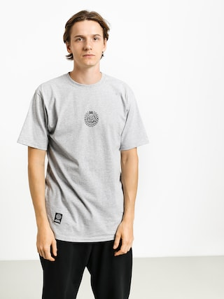 Tričko MassDnm Base Small Logo (light heather grey)