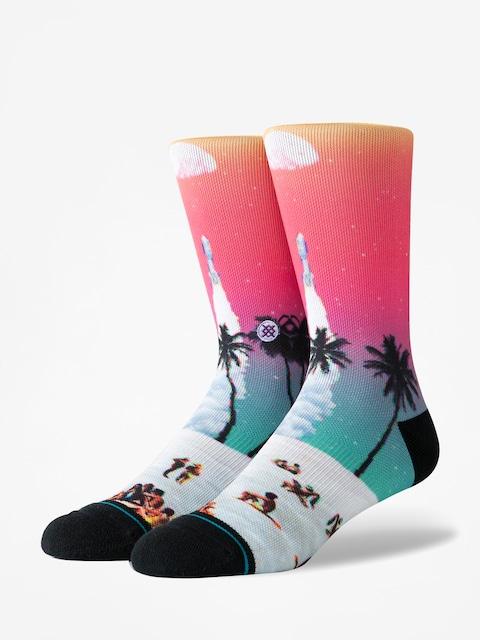 Ponožky Stance Moon Beach (fuschia)