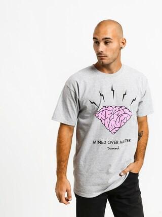 Tričko Diamond Supply Co. Headstrong (heather grey)