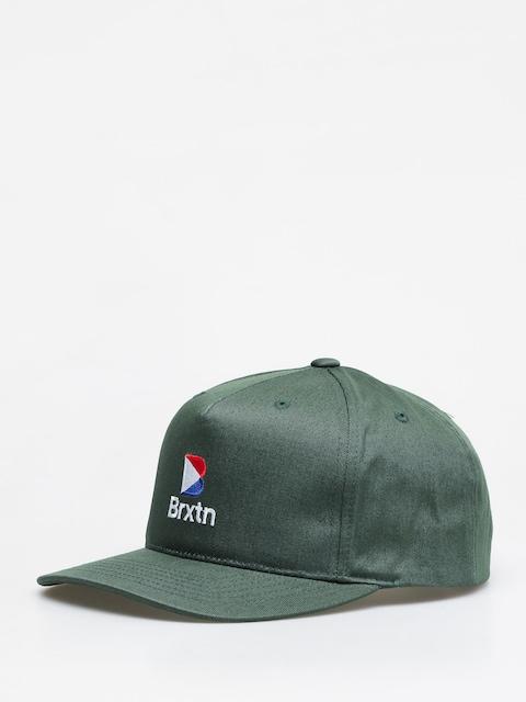 Kšiltovka  Brixton Stowell II Mp Snbk ZD (emerald)