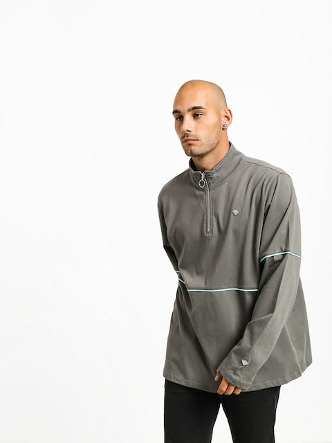 Mikina s kapucí Diamond Supply Co. Hard Cut (grey)