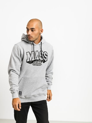 Mikina s kapucí MassDnm Hassle HD (light heather grey)