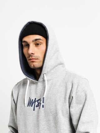 Mikina s kapucí MassDnm Result HD (light heather grey)