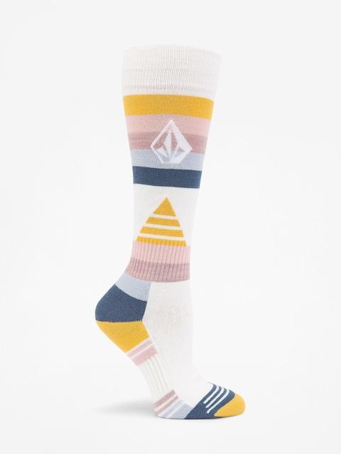 Ponožky Volcom Tundra Tech Wmn (wht)