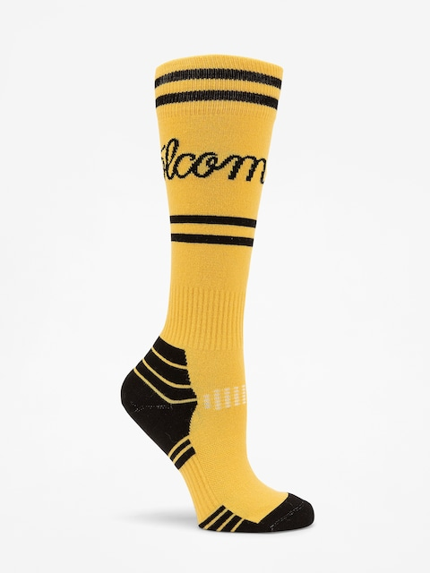 Ponožky Volcom Sherwood Wmn (yel)