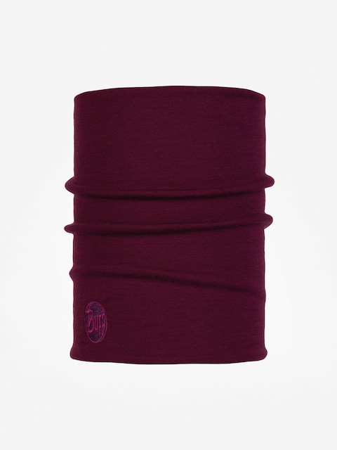 Šátek Buff Heavyweight Merino Wool (solid raspberry)