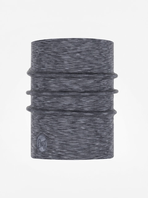 Šátek Buff Heavyweight Merino Wool (fog grey multi stripes)