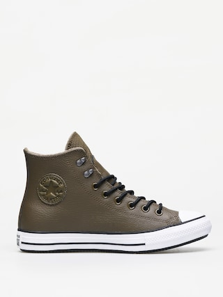 Tenisky Converse Chuck Taylor All Star Hi Winter Leather (surplus olive/black/white)