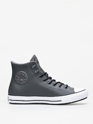 Tenisky Converse Chuck Taylor All Star Hi Winter Leather (carbon grey/black/white)