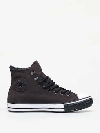 Tenisky Converse Chuck Taylor All Star Hi Winter Leather Gore Tex (velvet brown/white/black)