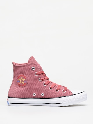 Tenisky Converse Chuck Taylor All Star Hi Retrograde Wmn (light redwood/habanero red)