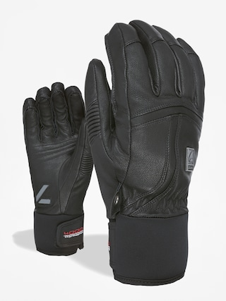 Rukavice Level Off Piste Leather (black)