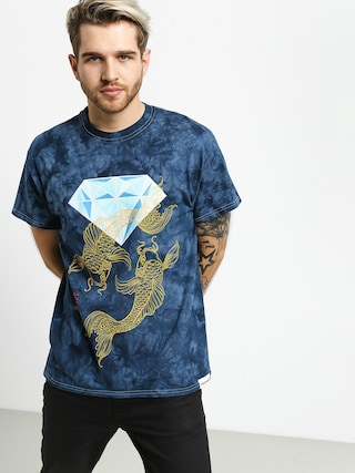 Tričko Diamond Supply Co. Pond Crystal Wash (navy)