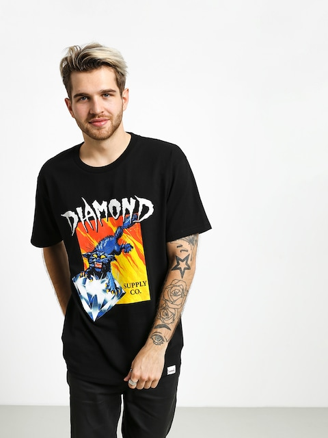 Tričko Diamond Supply Co. Greed (black)
