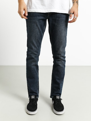 Kalhoty Volcom Vorta Denim (medium blue wash)