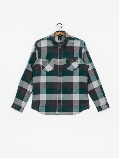 Košile Vans Box Flannel (trekking green/grey heather)