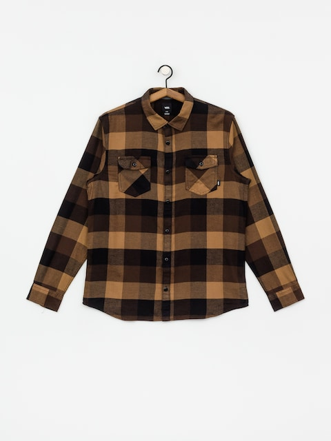 Košile Vans Box Flannel (black/dirt)