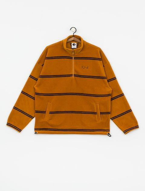Fleecová mikina Polar Skate Striped Fleece Pullover 2 0 (caramel)